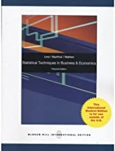 Best statistical techniques in business & economics 15th edition Reviews