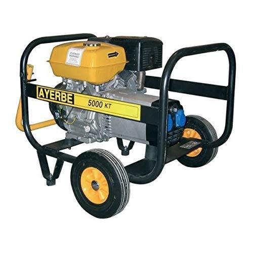 Ayerbe AY-5000-KT-M Generador, 4200W, Arranque eléctrico