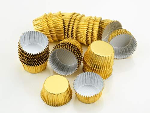 Alu-Kapseln 24mm gold 25 Stück