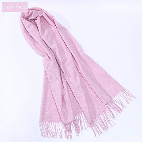 TIANPIN Super Zachte Sjaal Sjaal Kasjmier Wrap Winter Wool Warm Dikke Dual-use Sjaal - Dames/Mannen (70 * 200cm)