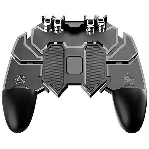 TRPYA Gamepad Zes Vinger Mobiele Game Controller Artifact Gratis Spel Fire Key Button Joystick Gamepad L1 R1 Trigger Direct Verzending