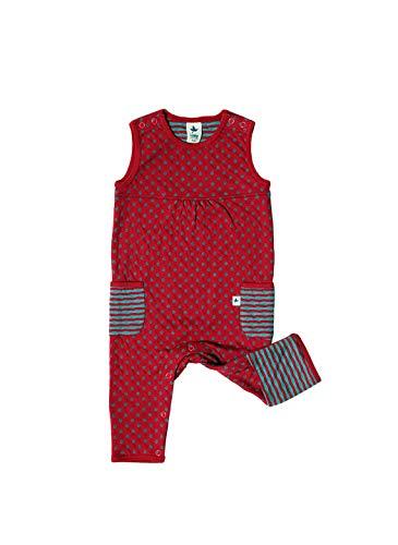 Leela Cotton - Combinaison - Bébé (fille) 0 à 24 mois rouge Isfahan 50/56