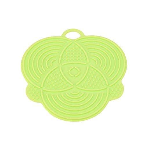 Sulifor Mehrfarbensilikonspülbürste, 1pcs silikonspülschwammwäscher küchenreiniger