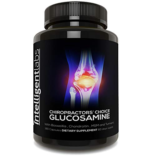 ★ #1 BEST GLUCOSAMINE ON AMAZON ★ Our triple strength glucosamine complex combines Glucosamine, Chrondroitin and MSM, Boswelia and Turmeric. A combination of vital molecules for joint health and the most powerful natural anti-inflammatories on the pl...