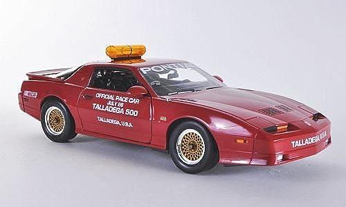 promociones de equipo Pontiac Trans Am GTA, Talladega 500 500 500 Pace Car , 1987, Modelo de Auto, modello completo, verdelight 1 18  descuento de ventas en línea