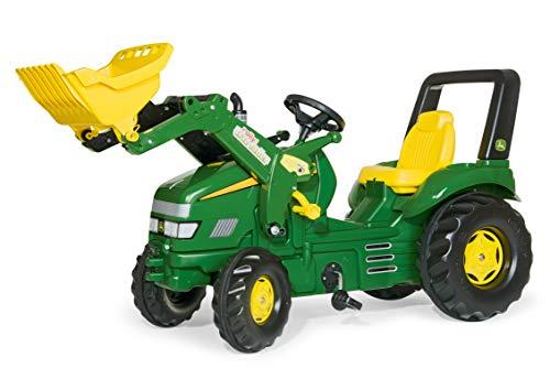 Rolly Toys 046638 - rollyX-Trac John Deere (für Kinder von 3 bis 10 Jahren, Sitz verstellbar, Flüsterreifen)