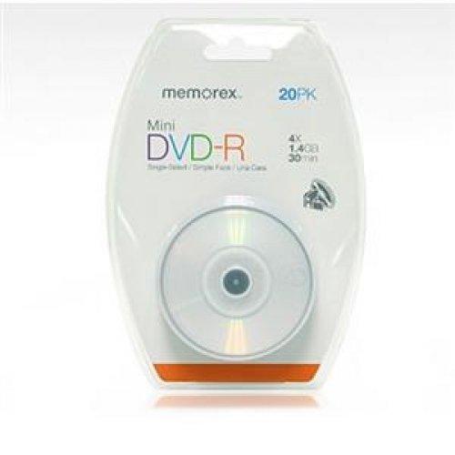 Imation CorpMEMOREX 20PK MINI DVD-R 4X (05673) -
