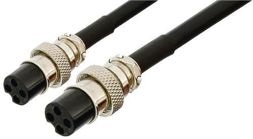 Thonet & Vander HK097-03264 3m Schwarz Signalkabel - Signalkabel (3 m, schwarz)