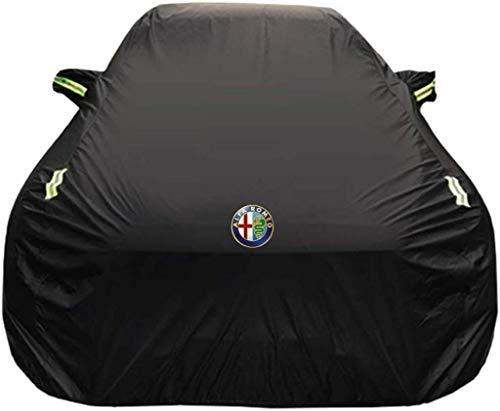 Autoabdeckung Autoabdeckung Alfa Romeo Giulia Sonder Car Cover Car Kleidung Thick Oxford Cloth Sonnenschutz Regen-Abdeckung Auto-Cloth Car-Cover (Größe, Oxford Tuch - eingebaut in lint), Oxford Tuch -