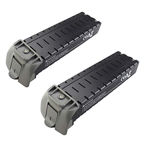 Anbee 2PCS 7.4V 2800mAh Modular Li-Po Battery Compatible with Holy Stone HS700D RC Quadcopter Drone