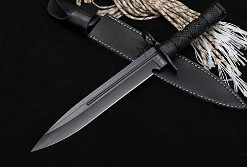 FARDEER Knife Cuchillo de Pesca de Cuchillo de Caza al Aire Libre XD19