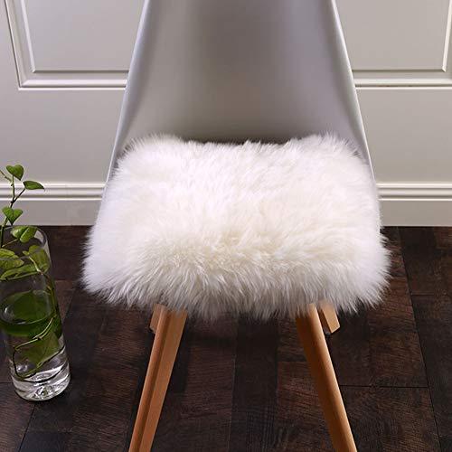 NSAIH Plüsch Sitzkissen,Warm,Dining Chair Pad,Winter/Stuhl Sitzkissen,für Erker/Büro/Sofa Home Chair Pad