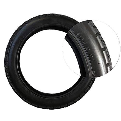 YLLN 16 x 2,50 monociclos eléctricos autoequilibrados Ruedas de neumático Exterior de Repuesto para Accesorios Negros V10/V10F