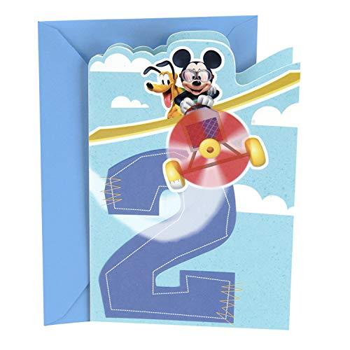 Hallmark 2nd Birthday Card (Disney Mickey Mouse) - 0399RZB1220