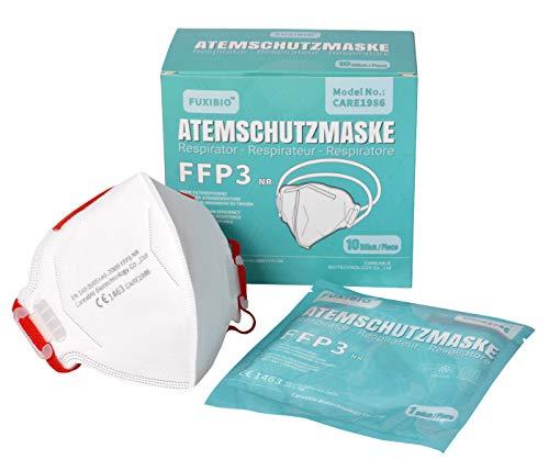 Zertifizierte FFP3 Atemschutzmasken Premium Schutzmaske Mundschutz Atemmaske Staubmaske (4 Stück)