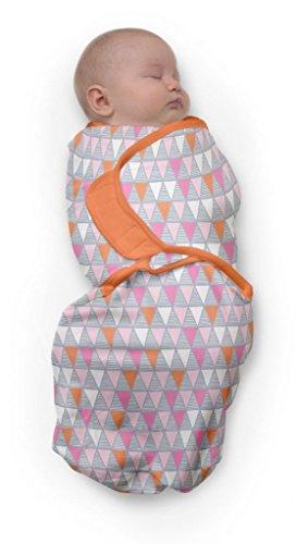 Baby Studio swaddlewrap (0 tot 3 maanden, klein, carnaval pink)