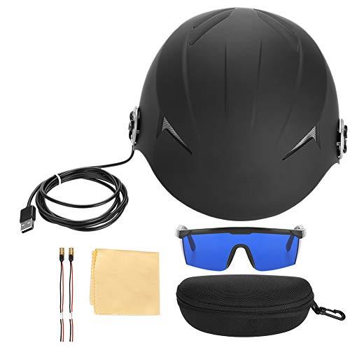 Casque capillaire à 45 diodes, chapeau infrarouge Massez la tête pour résoudre les problèmes de perte de cheveux pour hommes et femmes Stop Loss