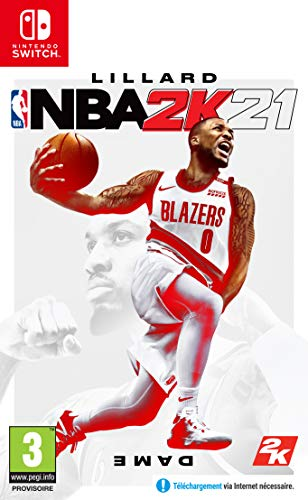 NBA 2K21 Switch + DLC - Exclusivité Amazon - Nintendo Switch [Importación francesa]