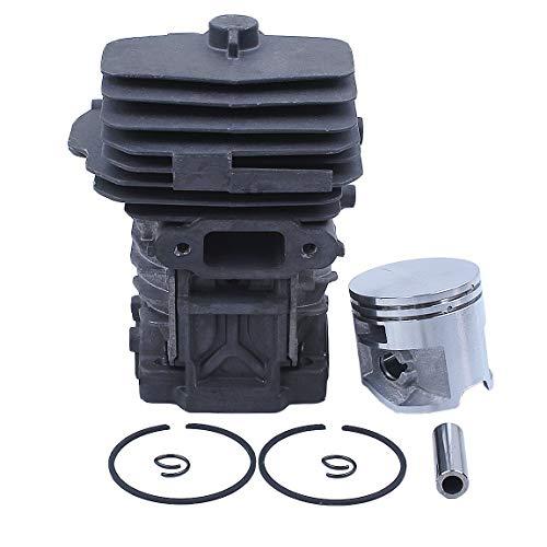 Haishine 44mm Zylinderkolbenbolzenringsatz für Stihl MS251 MS 251 Kettensäge # 1143 020 1207