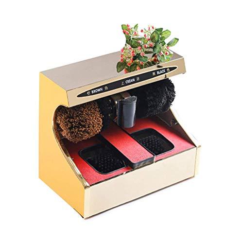 Accesorios para el hogarPulidora de zapatos eléctrica Sensor automático Máquina para pulir...