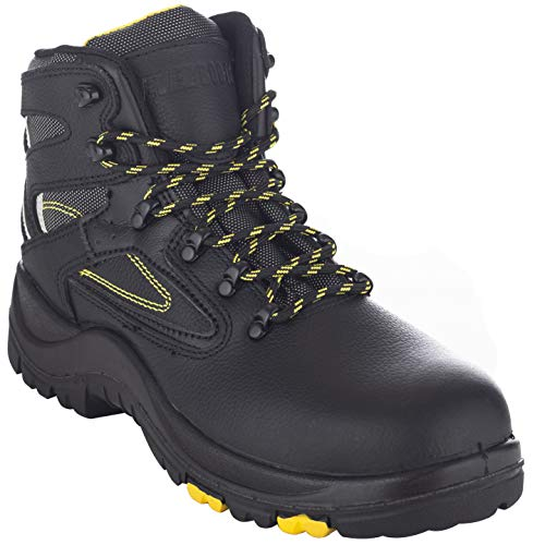 EVER BOOTS 'Protector Men's Steel Toe Industrial Work Boots Safety Shoes Electrical Hazard...