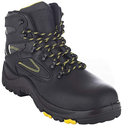 EVER BOOTS 'Protector Men's Steel Toe Industrial Work Boots...