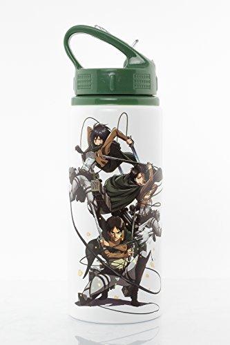 GB Eye Ltd Attack on Titan Season 2, Scouts Gourde, Aluminium, Divers, 7.2 x 7.2 x 21.7 cm