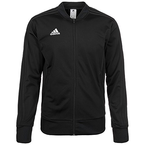adidas Herren CON18 PES JKT Sport Jacket, Black/White, L
