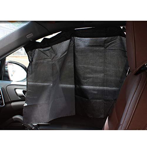 Autogordijn, ondoorzichtig zonnescherm zonnebrandcrème isolatie gordijn zuignap bevestiging gratis stretch dubbelzijdig zijden doek