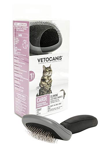 VETOCANIS Brosse carde de toilettage pour Chat taille S...
