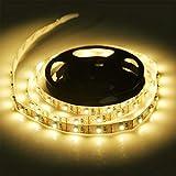 Yosemite 0,5/1/2/3/4/5 m DC 5 V USB 3528 SMD LED tira luz armario TV fondo decoración hogar 5 m blanco cálido