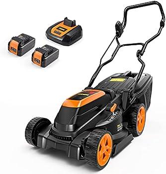 Teccpo 40V Cordless Brushless Lawn Mower