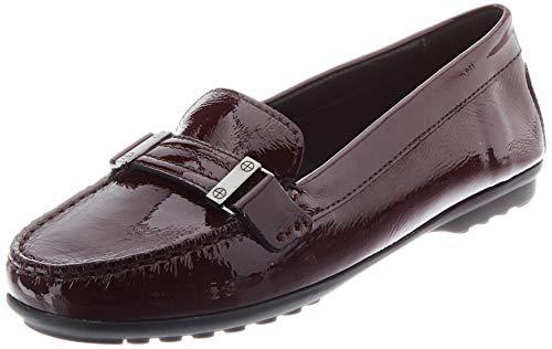 GEOX D ELIDIA A BORDEAUX Women's Loafers & Moccasins Moccasin size 36(EU)