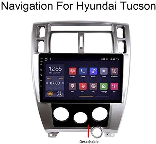 Android 8.1-System 10,1-Zoll-Autoradio GPS-Touch Screen für Hyundai Tucson 2006-2013 mit Navigationssystem Radio Stereo DVD WiFi Bluetooth USB Lenkradsteuerung,WiFi, 1 + 16G