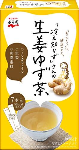 永谷園 「冷え知らず」さんの生姜ゆず茶 スティック 7本入×3個