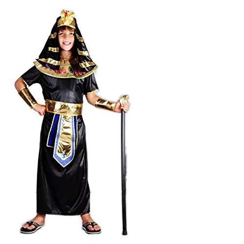 thematys Faraone Egitto Costume per Bambini - Perfetto per Cosplay, Carnevale e Halloween - Diverse Dimensioni (L)