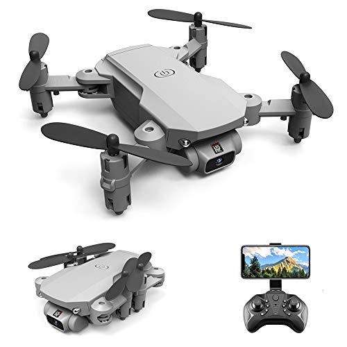 GoolRC LS- MIN Mini Drone RC Quadcopter 480P Cámara 13mins Tiempo Vuelo 360 ° Flip 6- Axis Gyro Foto Video Pista Vuelo Altitud Control de Retención Remoto sin Cabeza Drone para Niños Adultos 1 Baterías