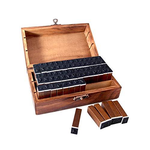 70 Stücke Alphabet Stempel Set,Gummi Stempel Set,Buchstaben Briefmarken Set,Stempel Alphabet Holz,Alphabet Buchstaben Stamp,Buchstaben Anzahl Symbol (70)