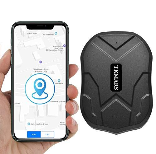 KUCE GPS Tracker Auto GPS Tracker mit Starker Magnet 3 Monate pragmatisch in Echtzeit GPS/GPRS/GSM Tracker Diebstahlsicherung für Fahrzeug Autos Motorrad LKW Tracker GPS Tracker Ortungsgerät