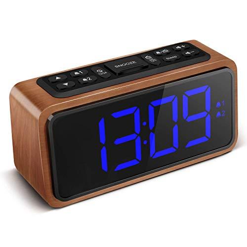despertador digital madera fabricante KOOSIN