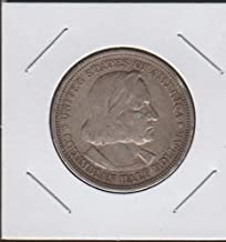 1893 World's Columbian Exposition Commerative Half Dollar Choice Extremely Fine