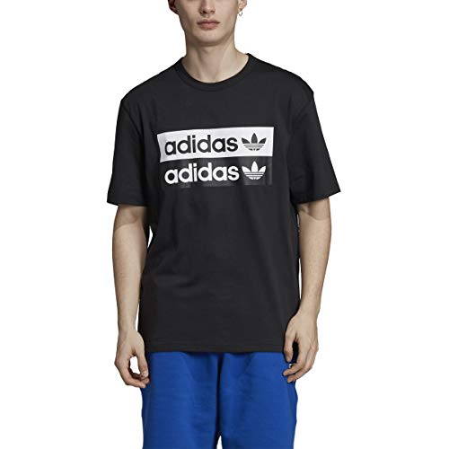 adidas Originals - Camiseta de skate para hombre -  Negro -  Medium