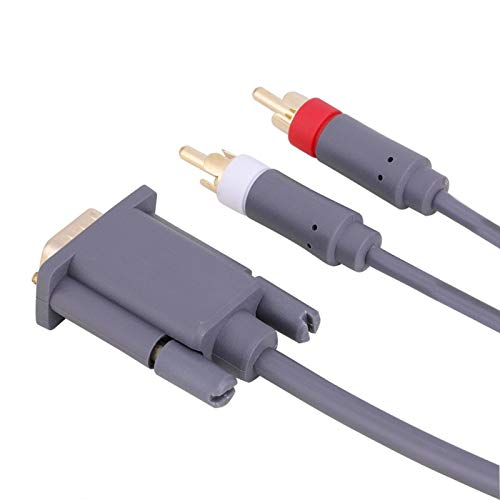 FOLOSAFENAR Cable AV VGA + 2 Cable RCA Portátil Compatible con Enco,...