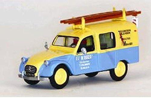Eligor - Miniature Citroen 3CV camionnette Depannage Electro-Hommesager