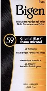 Bigen Powder Hair Color 59 Oriental Black .21 oz