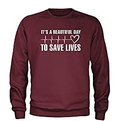 Buy The Its A Beautiful Day To Save Lives Crew On Amazon For 1799