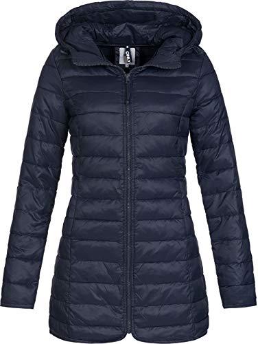 ONLY Damen onlTAHOE Coat CC OTW Mantel, Blau (Night Sky Night Sky), 36 (Herstellergröße: S)
