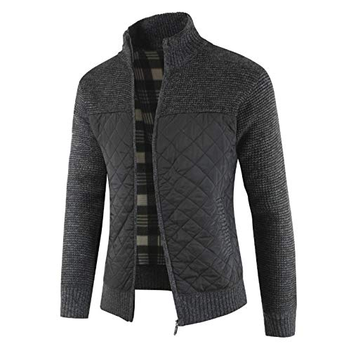 None/Brand 2020 Men's Sweaters Autumn Winter Warm Knitted Sweater Jackets Cardigan Coats Male Clothing Casual Knitwear
