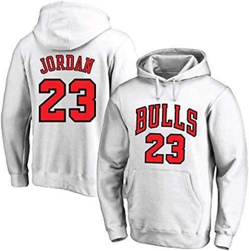 ChicagoBulls #23 - Sudadera con capucha para baloncesto, suelta y cómoda de manga larga, ideal como regalo de cumpleaños para hombre, sudadera con capucha