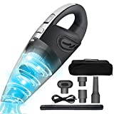 Car Vacuum Cleaner, Portable Cordless Handheld Vacuum High Power Wet/Dry Auto Vacuum Cleaner 12V Mini Car Vac for Home/Car Cleaning with Carry Bag